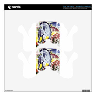 Blue Horse I by Franz Marc PS3 Controller Skin