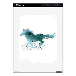 Blue Horse iPad 3 Skins