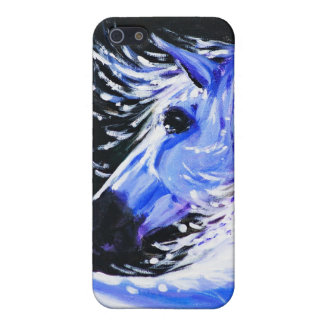 Blue horse iPhone SE/5/5s case