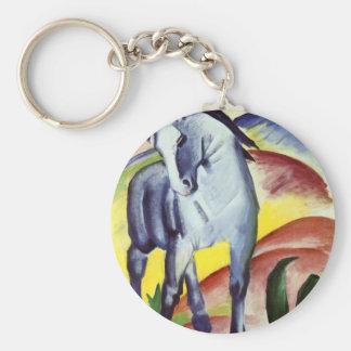Blue Horse Keychain