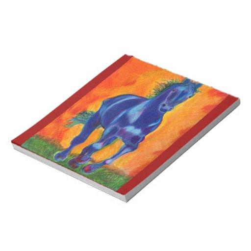 Blue Horse Memo Note Pads