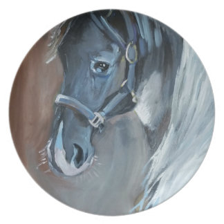 Blue Horse Plate