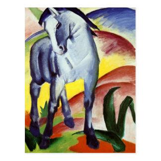 Blue Horse Postcard