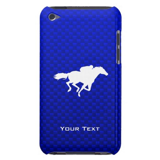 Blue Horse Racing Barely There iPod Covers