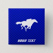 Blue Horse Racing Button