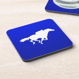 Blue Horse Racing Coaster