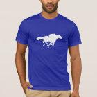 Blue Horse Racing T-Shirt