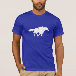 Blue Horse Racing T-Shirt