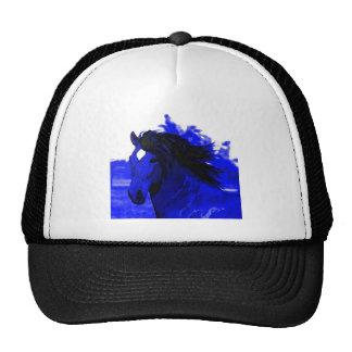 Blue Horse Trucker Hat