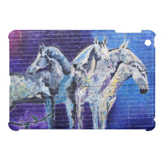 Blue Horses iPad Mini Covers