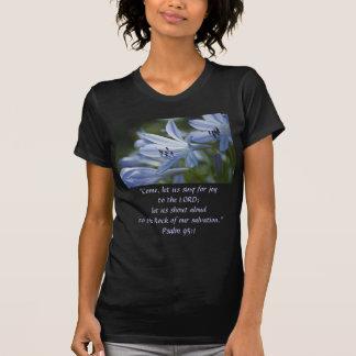 Blue Hosta Trumpets Shirt