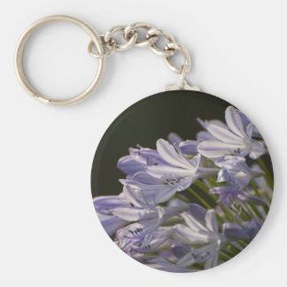 Blue Hostas Keychain