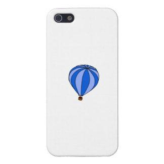 Blue Hot Air Ballon Cartoon iPhone 5 Covers