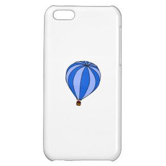Blue Hot Air Ballon Cartoon Cover For iPhone 5C