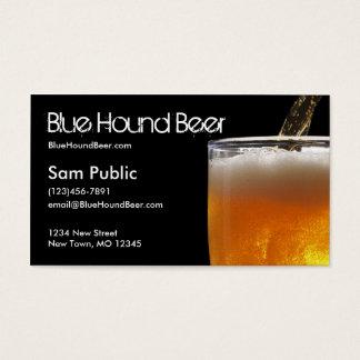 Blue Hound Beer Business Card