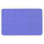 Blue Houndstooth Pattern Magnets