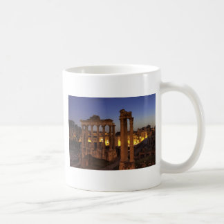Blue hour at the Forum Romanum, Rome Coffee Mug