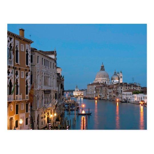 Blue hour Canale Grande Postcard