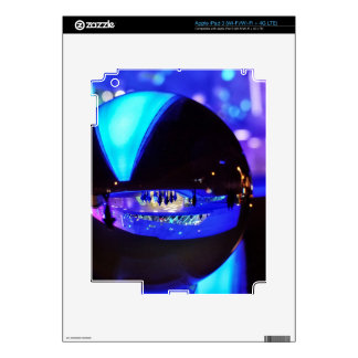 Blue hour through the crystal ball decal for iPad 3