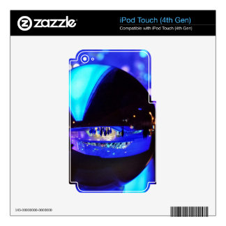 Blue hour through the crystal ball iPod touch 4G decal