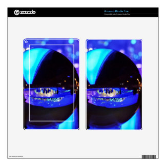Blue hour through the crystal ball skins for kindle fire
