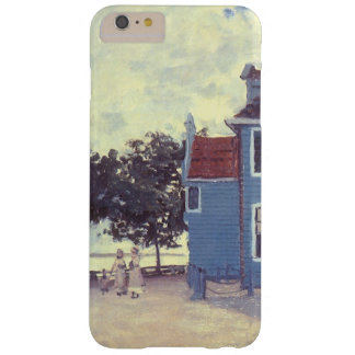 Blue House at Zaandam by Claude Monet, Vintage Art Barely There iPhone 6 Plus Case