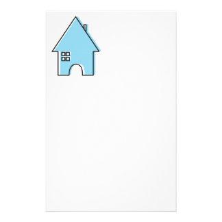 Blue House customizable Realtor stationery