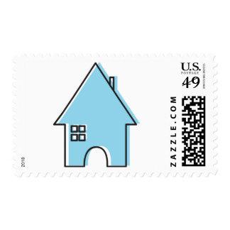 Blue House Postage
