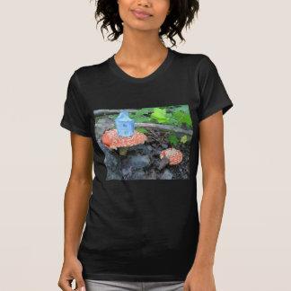 Blue House, Red Mushroom T-Shirt