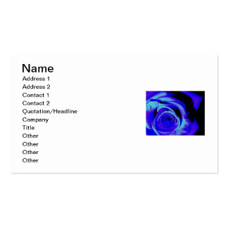 Blue hue Double-Sided standard business cards (Pack of 100)