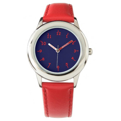 Blue Hue Red Too Watch