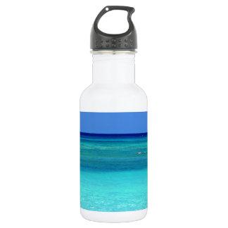 Blue Hues.JPG 18oz Water Bottle