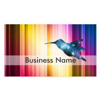 Blue Hummingbird Business Cards