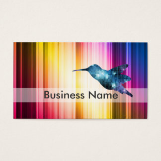 Blue Hummingbird Business Card