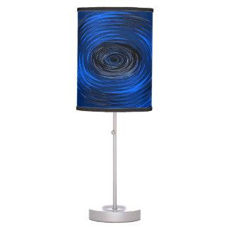 Blue Hurricane Desk Lamp