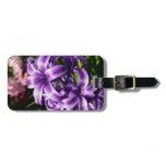 Blue Hyacinth I Spring Floral Bag Tag