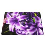 Blue Hyacinth I Spring Floral Canvas Print