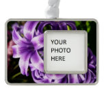 Blue Hyacinth I Spring Floral Christmas Ornament