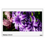 Blue Hyacinth I Spring Floral Wall Sticker