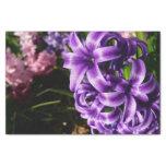 Blue Hyacinth II Spring Floral Tissue Paper