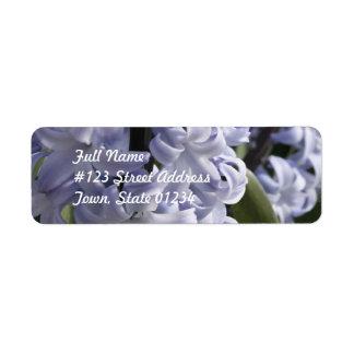 Blue Hyacinth  Mailing Labels