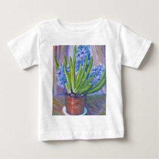 Blue hyacinths baby T-Shirt
