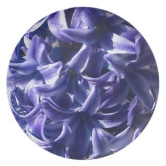 Blue Hyacinths Plate