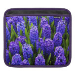 Blue Hyacinths Sleeves For iPads