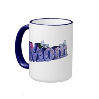 Blue Hydrangea 3D Mom Mug mug