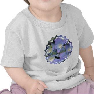 Blue Hydrangea Birthday T-Shirt