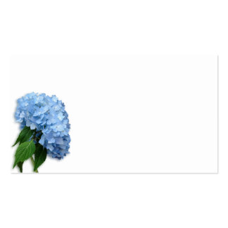 Blue Hydrangea Blank Seating Escort Cards Business Cards