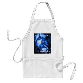 Blue Hydrangea: Blue Without You - Apron