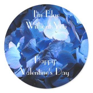 Blue Hydrangea: Blue Without You - Sticker sticker