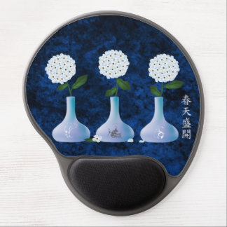 """Blue hydrangea bouquets 'Spring bloom"""" Gel Mouse Pad"""